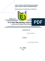 4 Ps Del Mkt Internacional