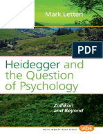 [Mark Letteri] Heidegger and the Question of Psychology