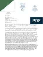 Testimony to NYSDEC Regarding E. 91st St. MTS Construction Permit Renewal