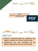 Ejercicios de Mayúsculas Andrés Emilio Alvarado Arias 21441011