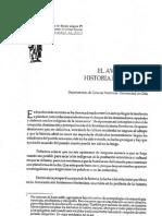 El Avance de La Historia Fronteriza - Sergio Villalobos