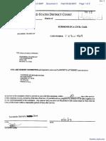 Snyder et al v. Greenberg Traurig, LLP et al - Document No. 3