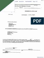 Snyder et al v. Greenberg Traurig, LLP et al - Document No. 4