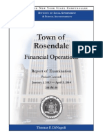 Rosendale Audit Report