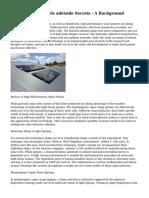 Sensible solar panels adelaide Secrets - A Background