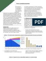 Precio Sostenible Del Petroleo.