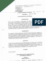 Acuerdo Gubernativo 60-2015 y 61-2015