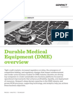 Durable Medical Equipment Overview