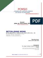 Beton Pcmso 2015