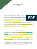 Atria, Fernando - Sobre la Soberanía y lo Político