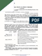 A Formal Proof of Godels Theorem by L. Chwistek