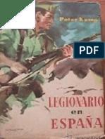 Peter Kemp - Legionario en Espana