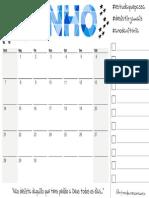 Calendario JUNHO Modelo 03