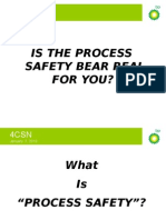 Process Safety Definition rocess Safety Definition – the Official BP Version