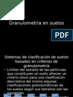 Granulometria.