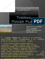 Layout of Thermal Power Plant