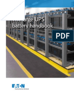 The Large UPS Battery Handbook
