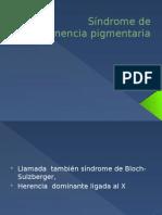 04 S¡Ndrome de Incontinencia Pigmentaria