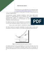 Método de Euler Definición