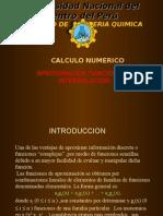 Aproximacion Funcional e Interpolacion
