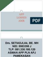 App Losses Amr