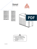 FR Series Refrigerated Dryer Operating Manual