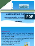 4.0.1 Geometria Analitica La Recta