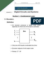 01 Combinatorial Logic