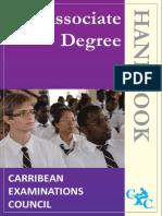 CXC Associate Degree Handbook