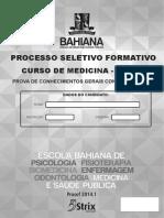 1a Fase Prova Bahiana Medicina Prosef 2014 1