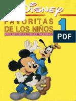 Disney Favoritas de Los Niños 1