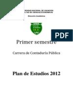 Primero Contaduria Publica 2012