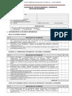 Ficha de Evaluacion Del Aprendizaje 2015