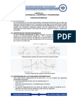 Función Exponencial Logaritmica