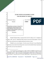 Mance v. United States of America et al - Document No. 12