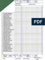 Registro Ficha de Evaluacion de Progreso Clase 2