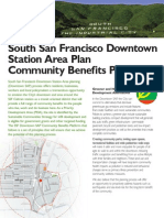 SSF Downtown Plan Coalition Platform
