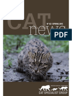 Fishing Cats in South India - IUCN Cat News 62
