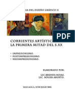 Impresionismo, Postimpresionismo y Neoimpresionismo