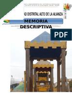 MEJORAMIENTO DEL SISTEMA DE PATRULLAJE PEATONAL EN EL DISTRITO DE ALTO DE LA ALIANZA