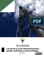 A Un Año de Ley de Telecomunicaciones