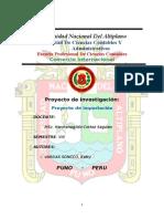 Universidad Nacional Del Aplandltiplano
