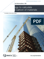 Methodology to calculate embodied carbon of materials