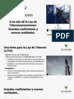 Un año de Ley de Telecom
