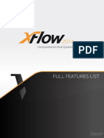XFlow2014_FullFeatureList