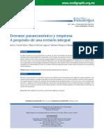 Derrame paraneumónico y empiema.   A propósito de una revisión integral.pdf