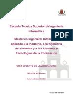 GuiaDocenteMII-Mineria de Datos