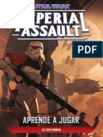 Star Wars Imperial Assault - Aprende a Jugar