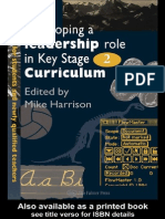 Mike Harrison-Developing a Leadership Role Within the Key Stage 2 Curriculum_ a Handbook for Students and Newly Qualified Teachers-The Falmer Press (1995)