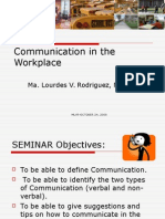 Communication in the Workplace-RC-MLVR